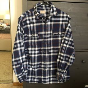 Jachs Red White and Blue Flannel